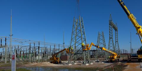 Schlüsselfertiger Ausbau eines Umspannwerkes in Dörpen</span><span>