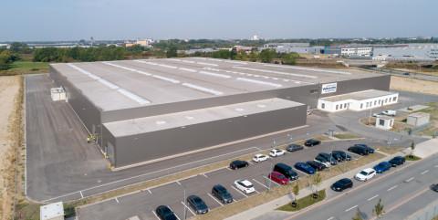 Schlüsselfertige Montagehalle für Wagon Automotive